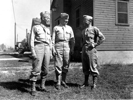 """""""78th Div. chaplains, Nov. 1943"""""""