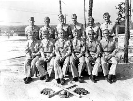 """Ball team of 78th Div, Camp Butner, N.C."""
