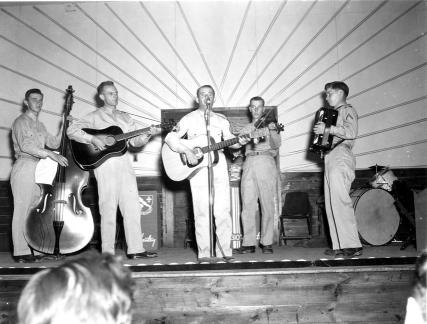 """Variety Show - 310th Infantry, 78th Div. Camp Butner, N.C."""
