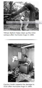 Hurricane Hugo, 1989