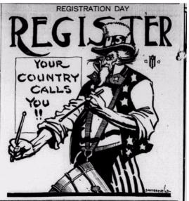 Registration Day, Uncle Sam