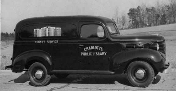 Personal service was an attractive feature of bookmobile service.