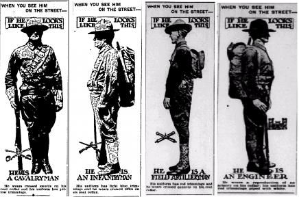 Soldiers, Uniforms, World War I