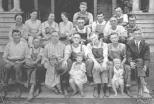 Residents of the Shue Boarding House, 1920s
