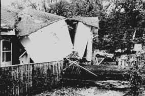 Damaged Home